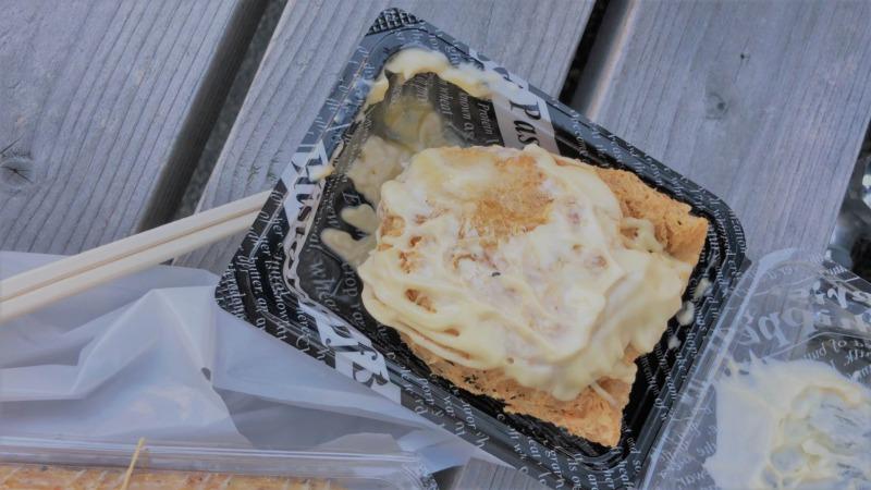 バターなのマーガリンなのかマヨネーズなのか とにかく味がよくわかんないけど、バターらしい部分がうまいぞ!