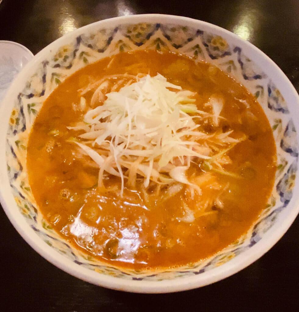 ネギ担々麺|松乃木飯店