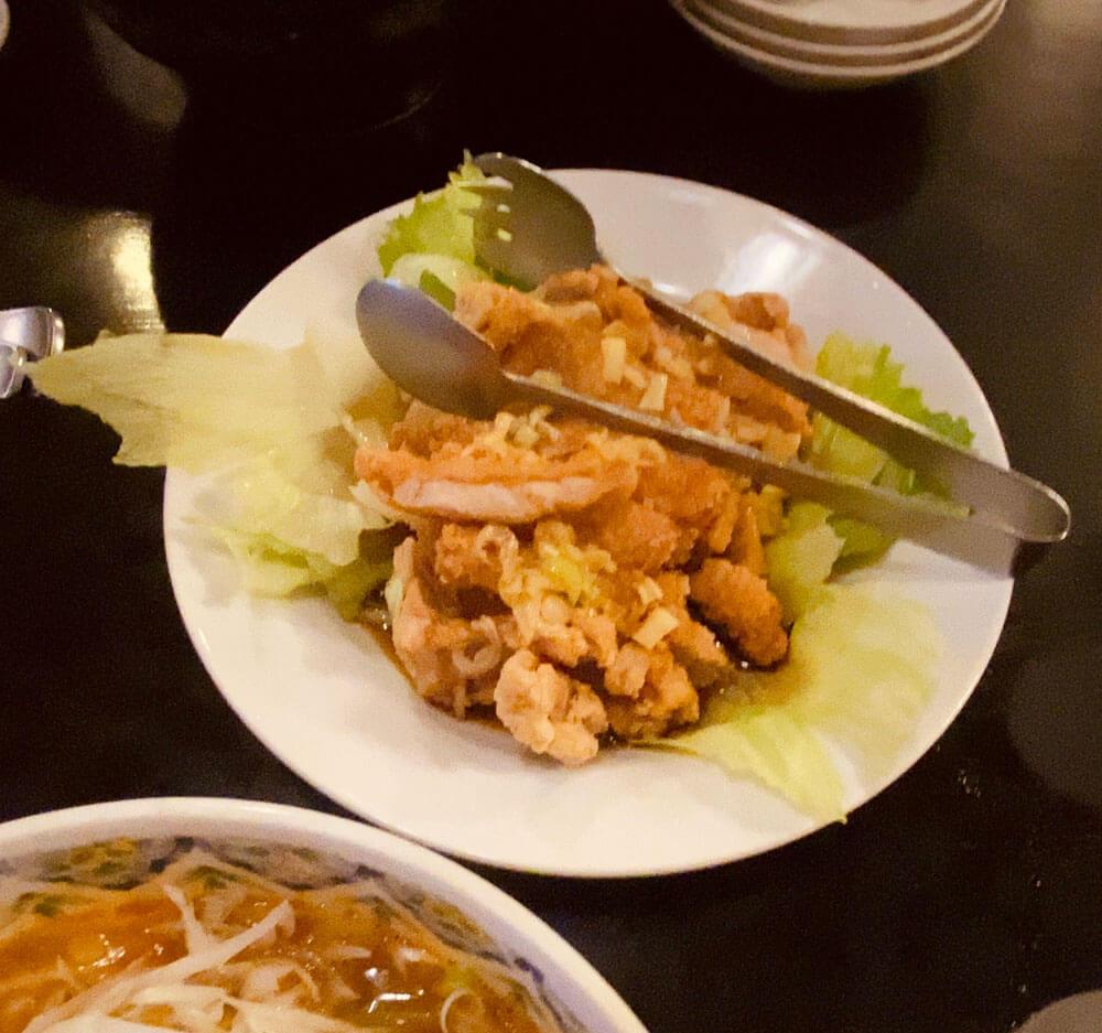 油淋鶏|松乃木飯店