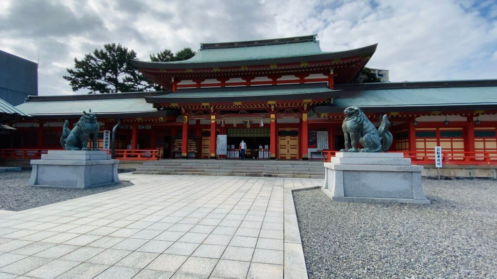 浜松市の初詣記事の常連「五社神社」