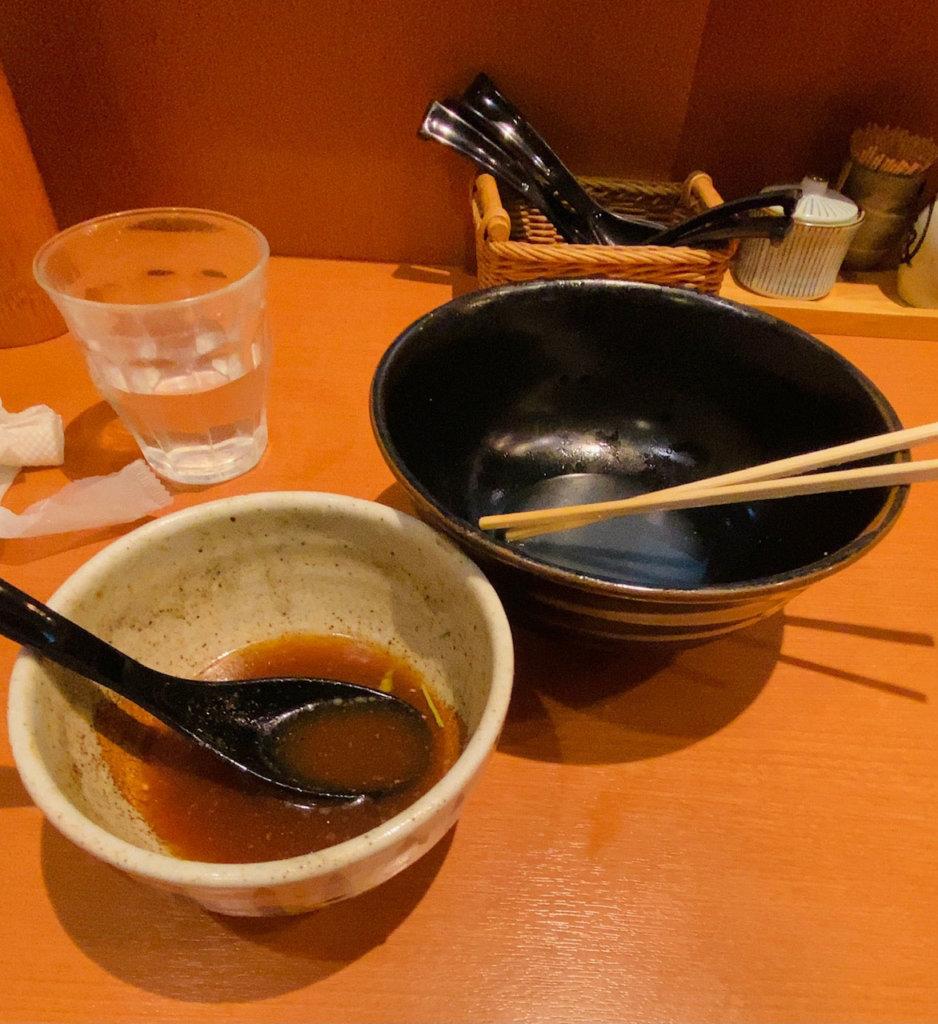 響き屋|つけ麺完食!