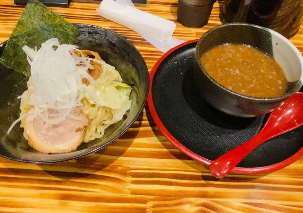 魚介風塩つけ麺|らーめん海山