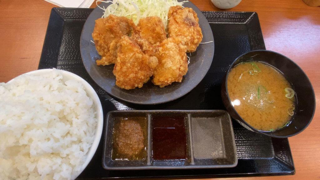 からやま定食(竹)──からやま浜松幸店