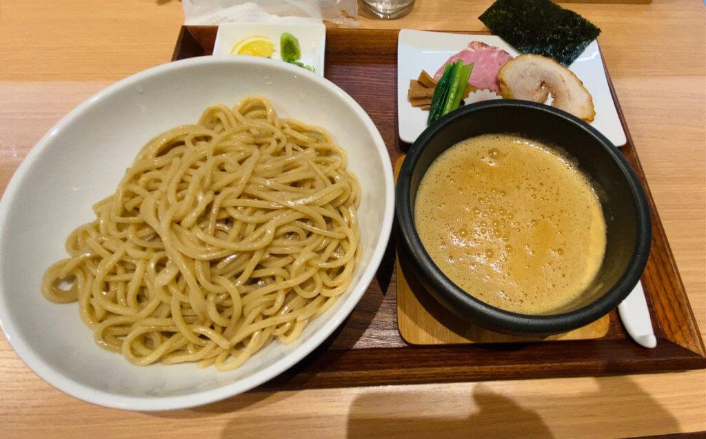つけ麺250g|ラーメン歩く花