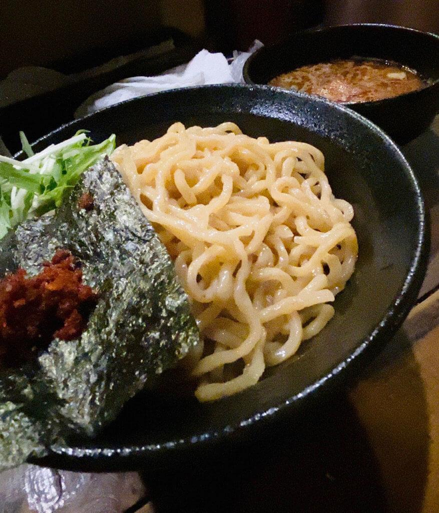 えび旨辛つけ麺(大盛り)|麺喰処じゃジャ旨