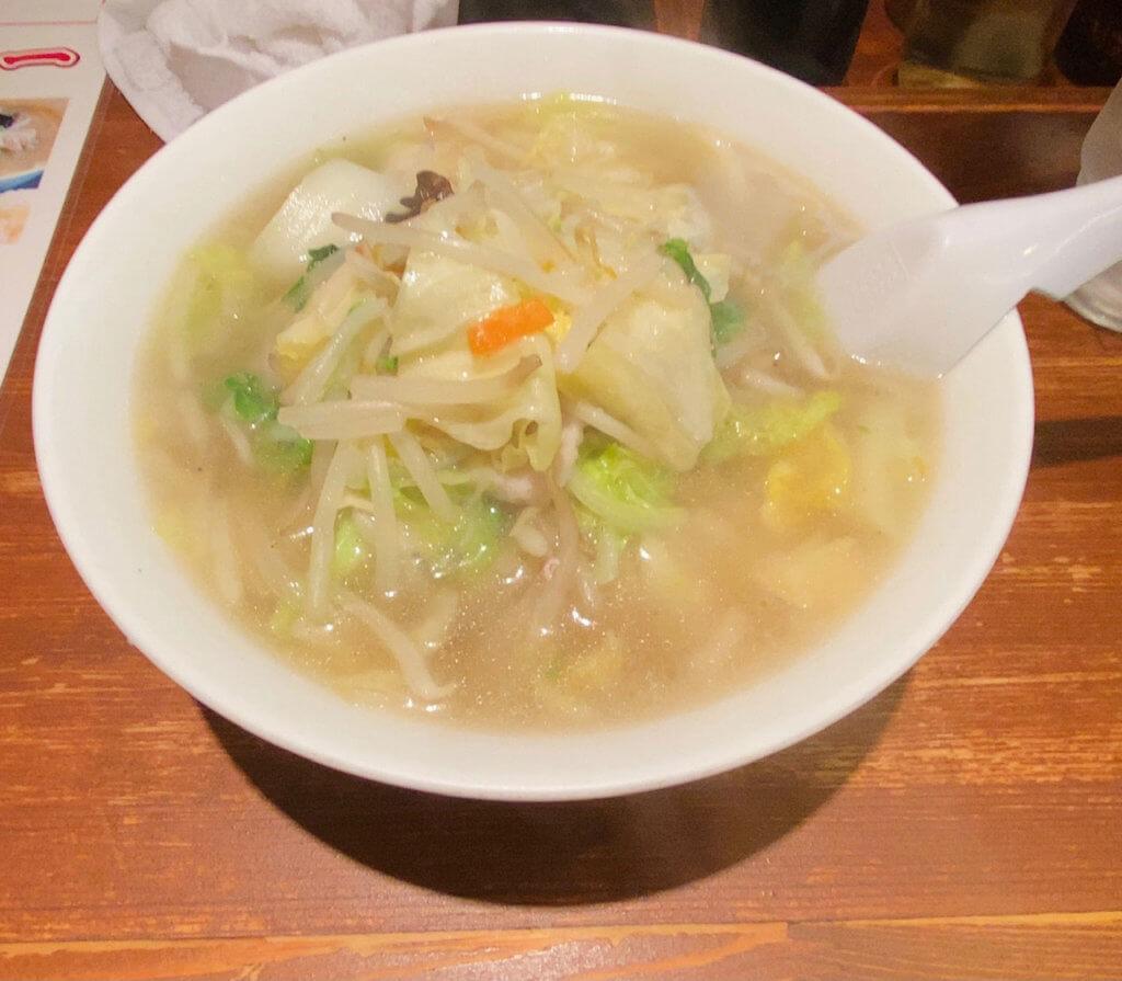 タンメン(大)|麺屋 田力