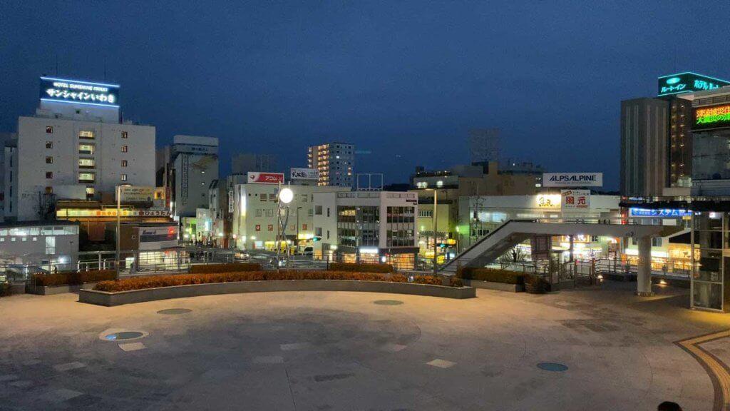 東北の主要都市の駅はどこも無駄にデケェ