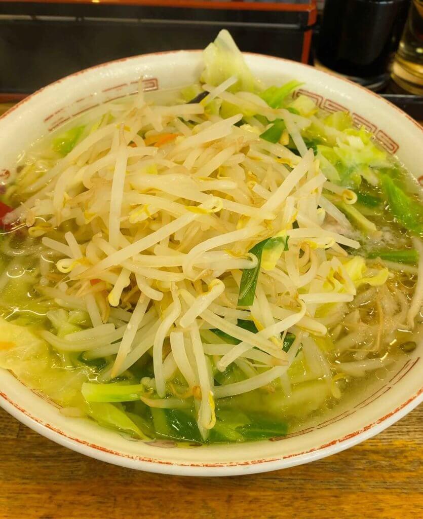 野菜タンメン(ふつう) かづ枝食堂