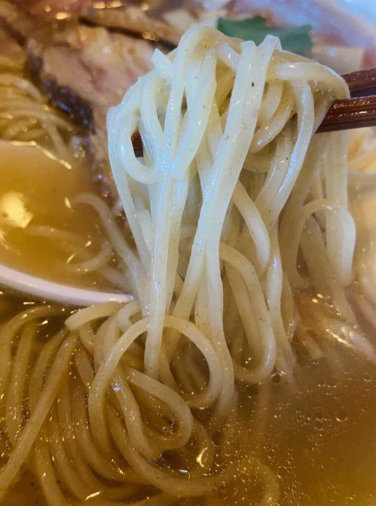 麺が柔らかいのはしょんぼりだけど、味は悪くない