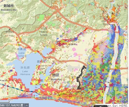 浜松市のハザードマップ全部盛り