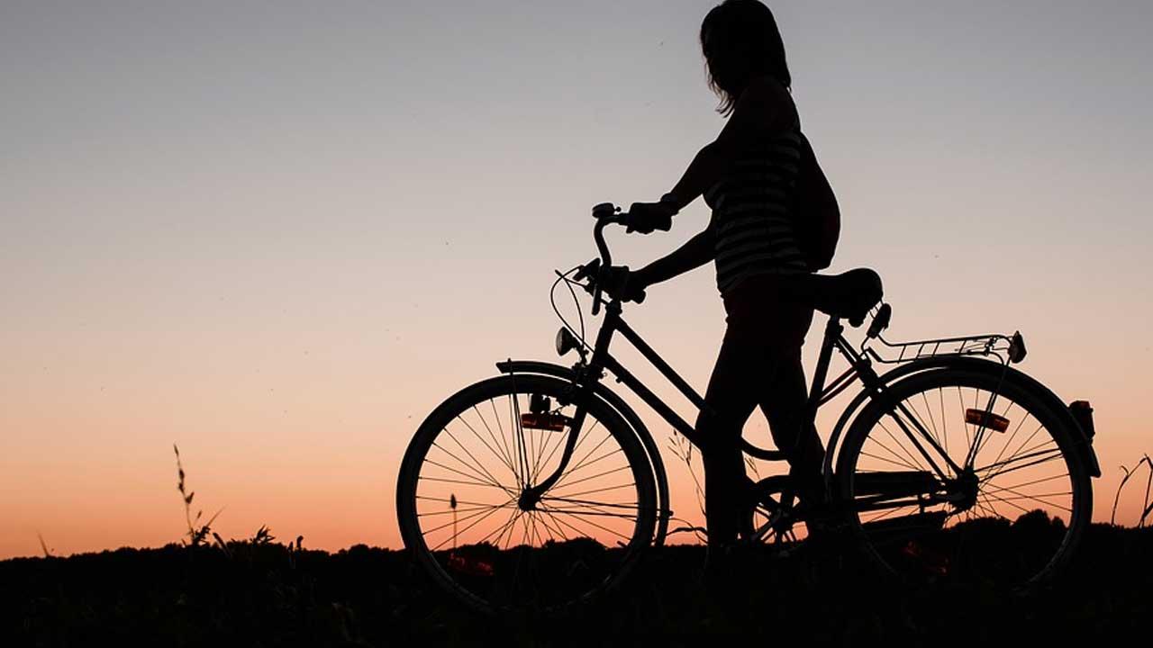 一時停止で停まった自転車を見て感動してしまった
