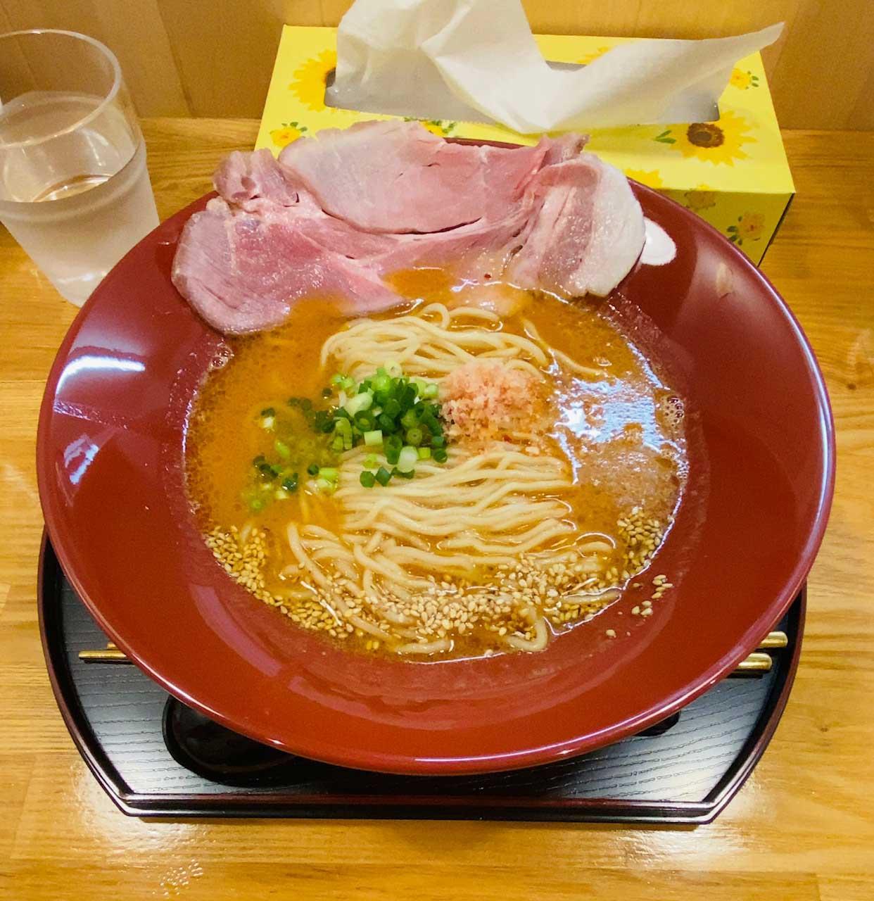 海老味噌拉麺|えびそば金行 浜松店